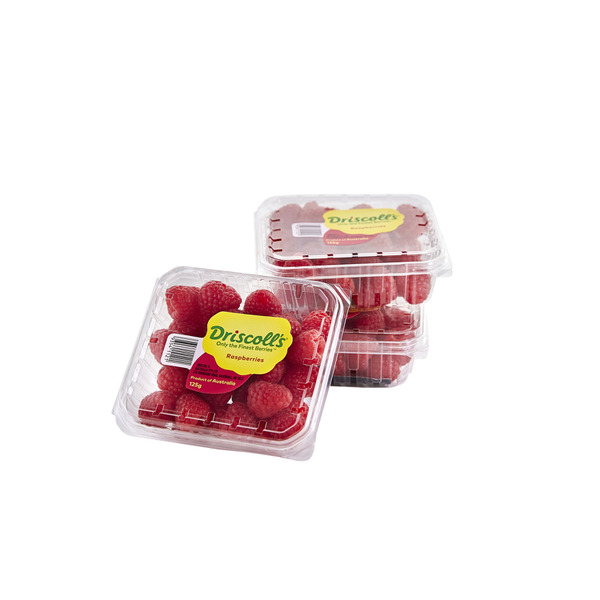Australian Raspberries 125g Punnet